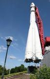 Primeira nave espacial Vostok em Kaluga Imagem de Stock Royalty Free