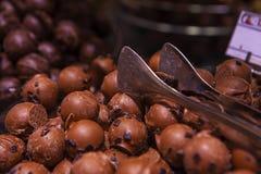 Primeira qualidade do chocolate de Bélgica Fotografia de Stock