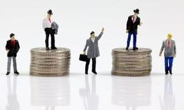 Primeiramente, segundo, terceiro, adiante e fabricantes de dinheiro quinto lugar imagem de stock royalty free