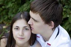 Primeiro amor Imagens de Stock