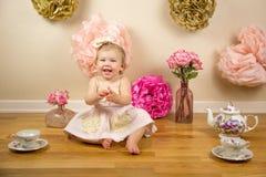 Primeiro aniversário Photoshoot Fotos de Stock