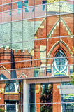 Primeiro Baptist Dallas Sanctuary Foto de Stock Royalty Free