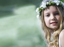 Primeiro comunhão - retrato Imagens de Stock Royalty Free