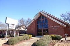 Primeiro conjunto de deus, Memphis ocidental, Arkansas fotos de stock