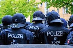 Primeiro de maio Berlim 2017 foto de stock