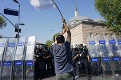 Primeiro de maio em Istambul Imagens de Stock
