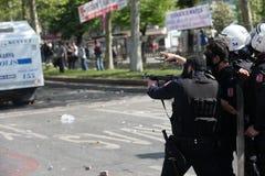 Primeiro de maio em Istambul Foto de Stock Royalty Free