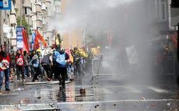 Primeiro de maio em Istambul, Turquia. Foto de Stock Royalty Free