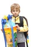 Primeiro dia de escola Foto de Stock Royalty Free