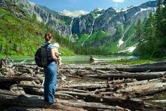 Primeiro hike Foto de Stock Royalty Free