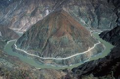 Primeiro louro do rio de Yangtze Imagem de Stock