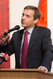 Primeiro ministro anterior de Hungria, Sr. Gordon Bajnai foto de stock