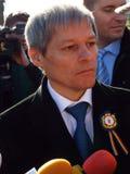 Primeiro ministro de Romênia, Dacian Ciolos fotos de stock royalty free