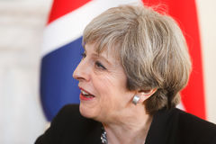 Primeiro ministro do Reino Unido Theresa May Imagens de Stock Royalty Free