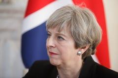 Primeiro ministro do Reino Unido Theresa May Foto de Stock