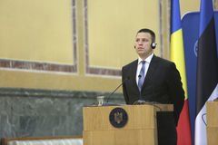 Primeiro ministro estônio Juri Ratas imagem de stock