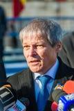 Primeiro ministro romeno Dacian Ciolos Imagens de Stock