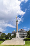 Primeiro monumento da divisão Fotos de Stock Royalty Free