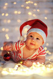 Primeiro Natal Fotos de Stock