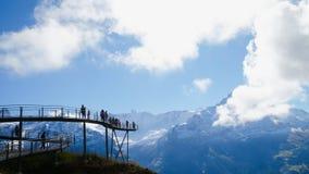 Primeiro Suíça das montanhas Foto de Stock