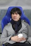 Primeiro treinador Joachim da equipa nacional de Alemanha baixo Fotografia de Stock Royalty Free