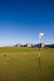 Primeiro verde no curso velho do St Andrews Imagem de Stock Royalty Free
