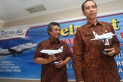 Primeiro voo Imagem de Stock