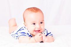 Primeiros dentes de bebê foto de stock royalty free