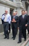 Primeiros ministros letães Foto de Stock