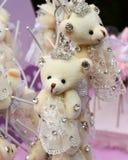 Primeiros presentes das decorações da festa de anos Fotos de Stock Royalty Free