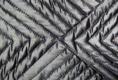 Textura acolchada del paño Imagen de archivo libre de regalías