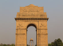 Primer al monumento de guerra de la puerta de la India Imágenes de archivo libres de regalías