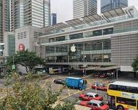 Primer Apple Store en Hong Kong Imágenes de archivo libres de regalías