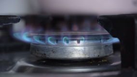 Primer ardiente del gas metrajes