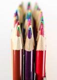 Primer Art Pencils colorido Foto de archivo libre de regalías