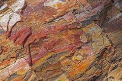 Primer aterrorizado de la roca foto de archivo