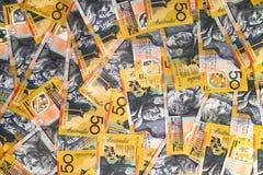 Primer australiano del dinero en circulación imágenes de archivo libres de regalías