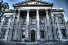 Primer banco de los Estados Unidos en Philadelphia imagen de archivo