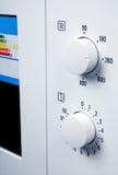 Botones del horno de microondas Foto de archivo