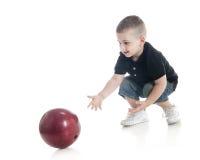 Primer bowling Imagen de archivo libre de regalías