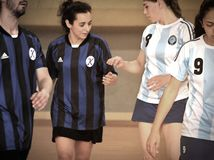 Primer campeonato nacional turco de Korfball Imagen de archivo