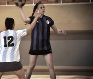 Primer campeonato nacional turco de Korfball Fotos de archivo libres de regalías
