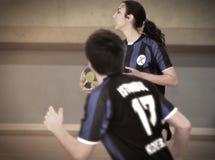 Primer campeonato nacional turco de Korfball Foto de archivo libre de regalías