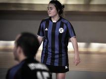 Primer campeonato nacional turco de Korfball Fotografía de archivo libre de regalías