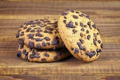 Primer cocido de las galletas Fotografía de archivo