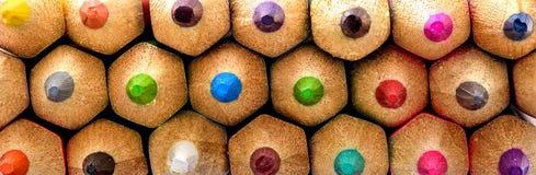 Primer coloreado de los lápices imágenes de archivo libres de regalías