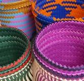 Primer colorido de los bolsos Foto de archivo libre de regalías