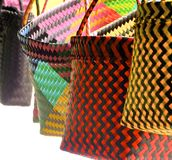 Primer colorido de los bolsos Fotos de archivo