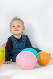 Primer cumpleaños Imagen de archivo libre de regalías