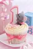 Primer cumpleaños del bebé Foto de archivo libre de regalías